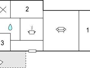 Ferienhaus für 6 Personen (90 m²) ab 170 € in Geraberg