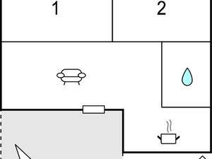 Ferienhaus für 4 Personen (60 m²) ab 152 € in Geraberg