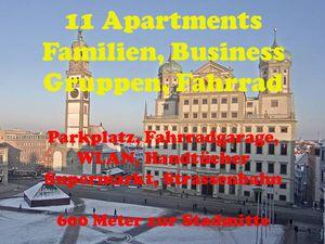 Ferienwohnung für 4 Personen ab 104 € in Augsburg