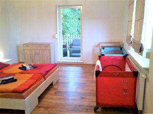 Ferienwohnung ferienhaus mit kamin straußfurt