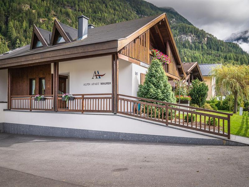Alpenapart Frank Appartement 1, 2-5 Personen, tztal