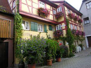 Ferienwohnung für 2 Personen (65 m²) ab 60 € in Rothenburg ob der Tauber
